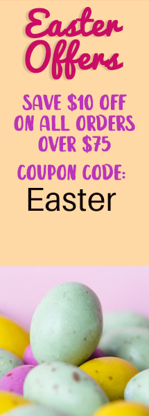 Easter Sale vertical banner
