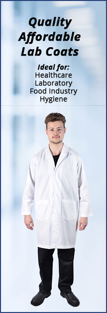 Laboratory Hospitality Healthcare Coat