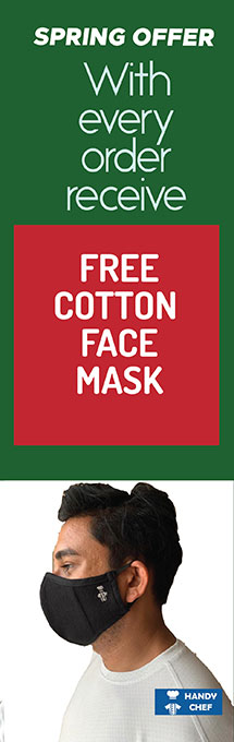 Spring Offer Banner 2020 Free Cotton Face mask with every order
