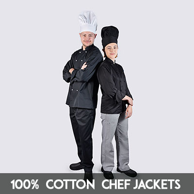 luxurious cotton chef jackets