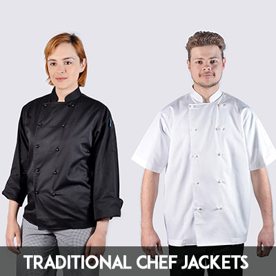 traditional chef jackets