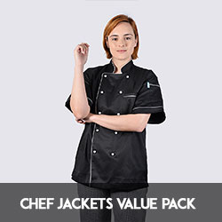cheap chef jackets online value pack