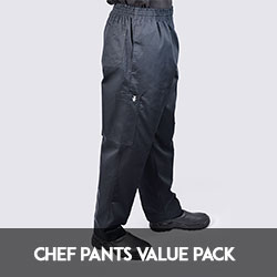 cheap chef pants set value pack