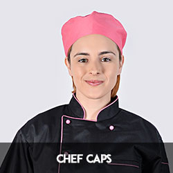 chef caps coloured