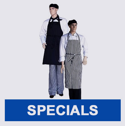 Chef Uniforms Specials