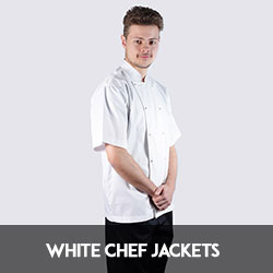 white chef jackets