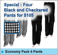 Specials Chef 4 Pants for $105 and free shipping