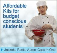 chef uniform for students