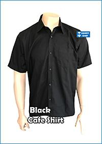 Chef / Restaurant Black Shirt