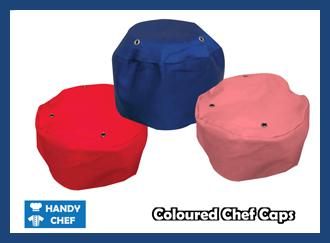Chef Coloured Caps