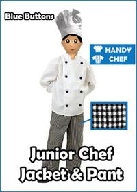 Black Button Chef Junior Chef