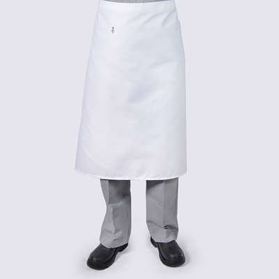 Chef Long Aprons White