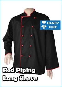 black-long-red-piping