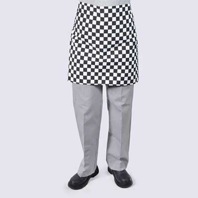 Cafe Aprons Diamond Checkered