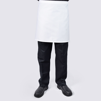 Short Chef aprons White