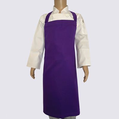 Violet Dark Purple Junior Chef Aprons