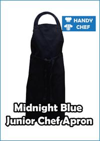 Midnight Blue Apron
