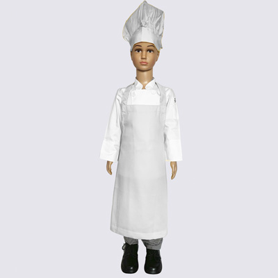 White Junior Chef Hat and Aprons