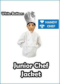 Junior Chef White Jackets Only
