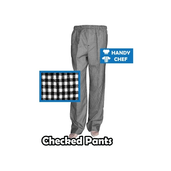 Chef Checkered Pants